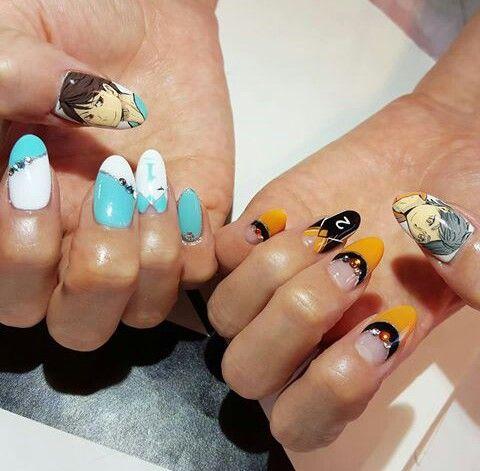 Haikyuu Nail Art Inspiration Nail Art Stylish Nails