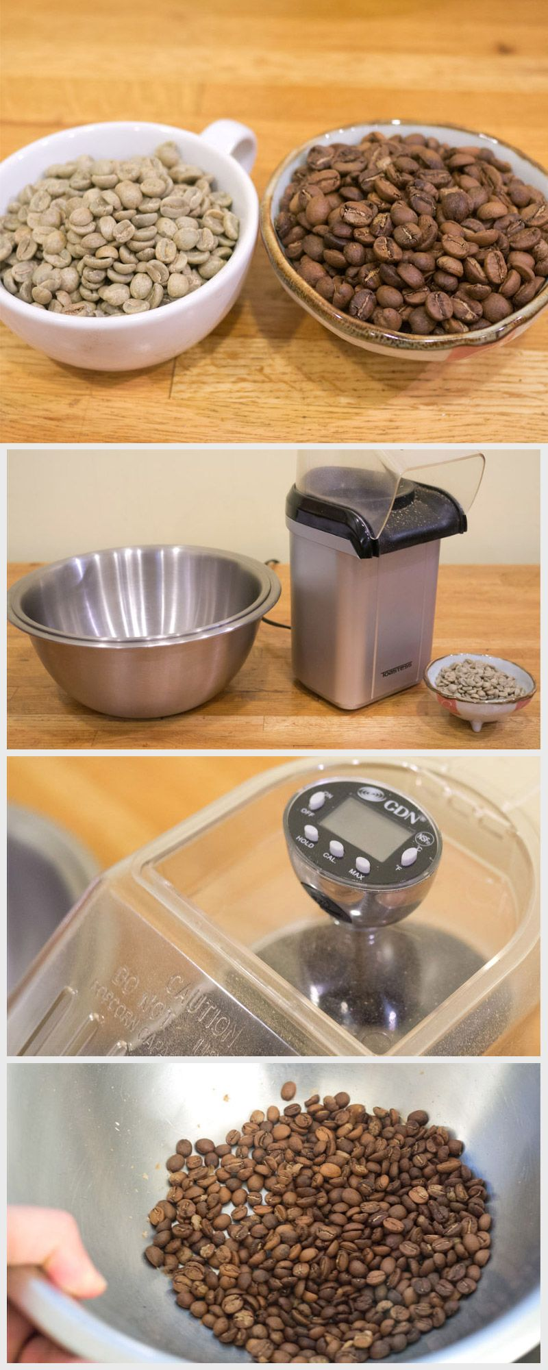 Roast Your Own Coffee With a Popcorn Popper Food