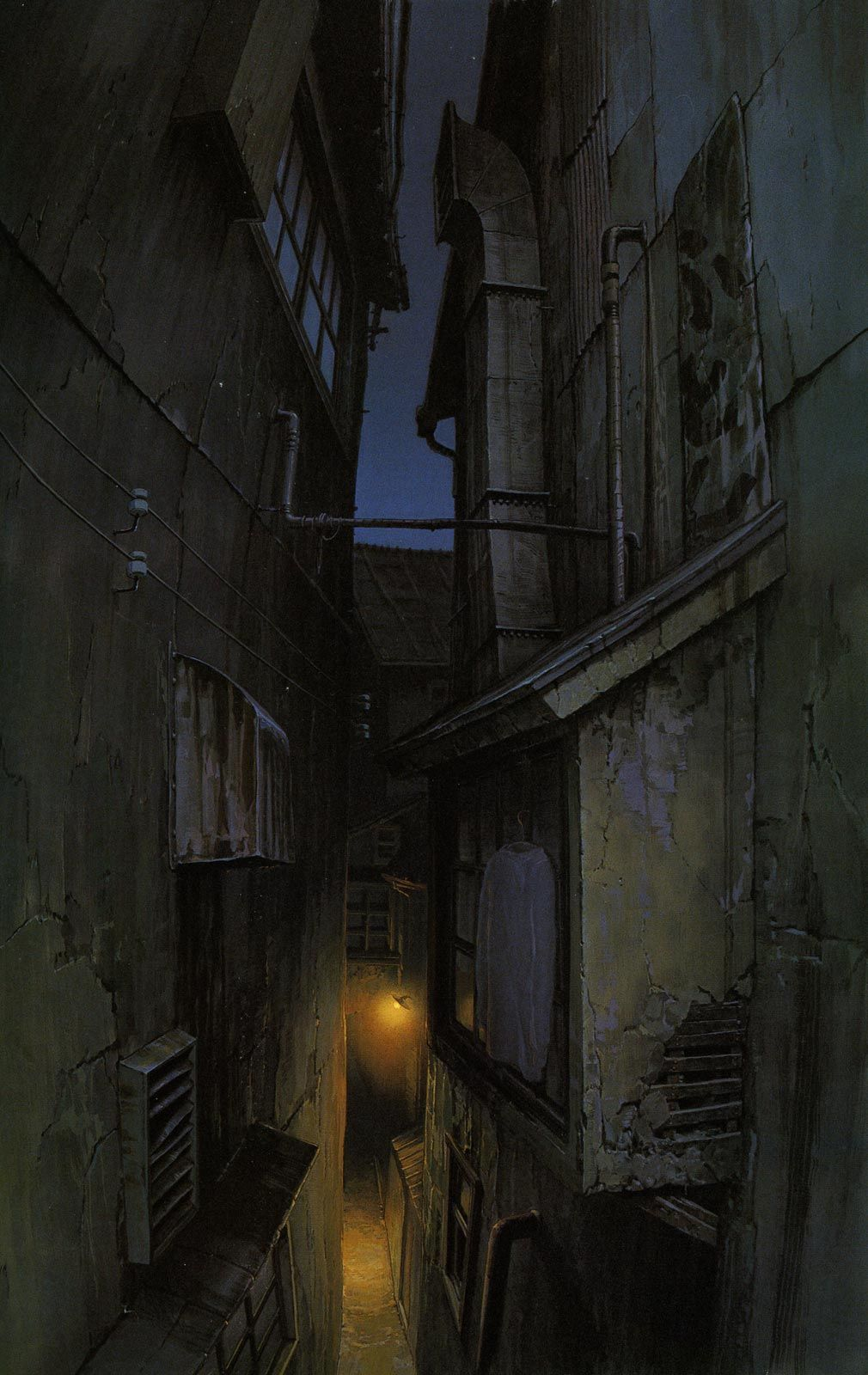 Living Lines Library: 千と千尋の神隠し / Spirited Away (2001) - Final Backgrounds