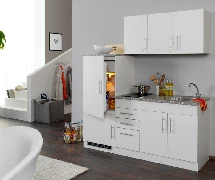 kompakte singlekuche design, singleküchen – eine modische und kompakte lösung für das, Design ideen