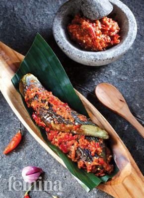 Sambal Terung Bakar Sambal Recipe Spicy Recipes Food Drinks Dessert