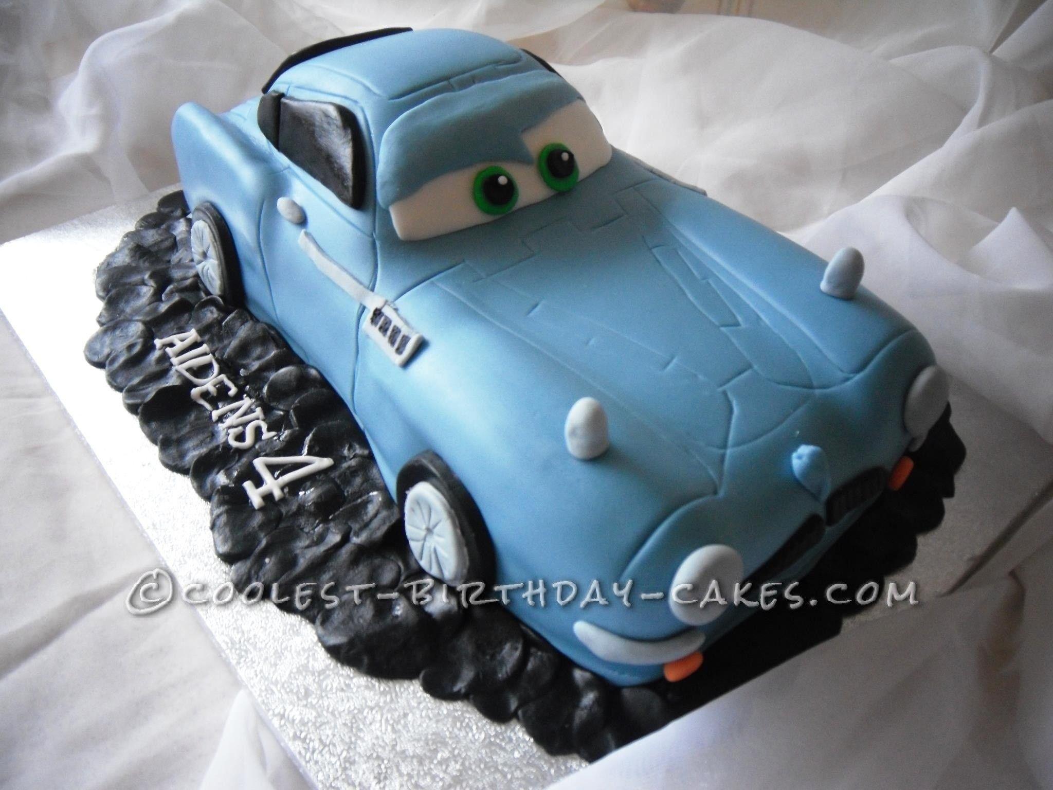 Vintage Coolest Finn McMissile Cake