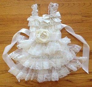 Ivory MODERN VINTAGE Tutu Dress