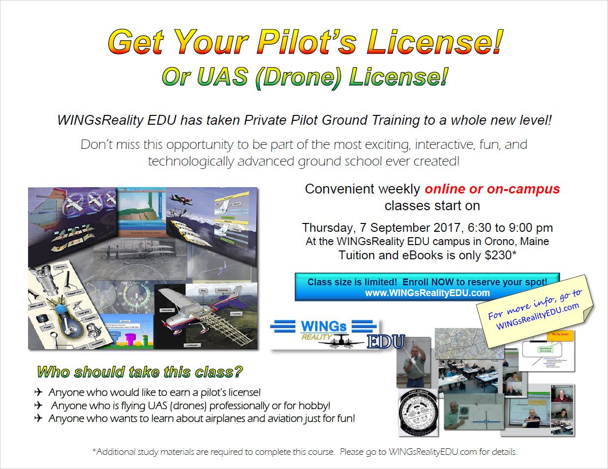 Pin by WINGsReality EDU on Fall 2017 Private Pilot Ground