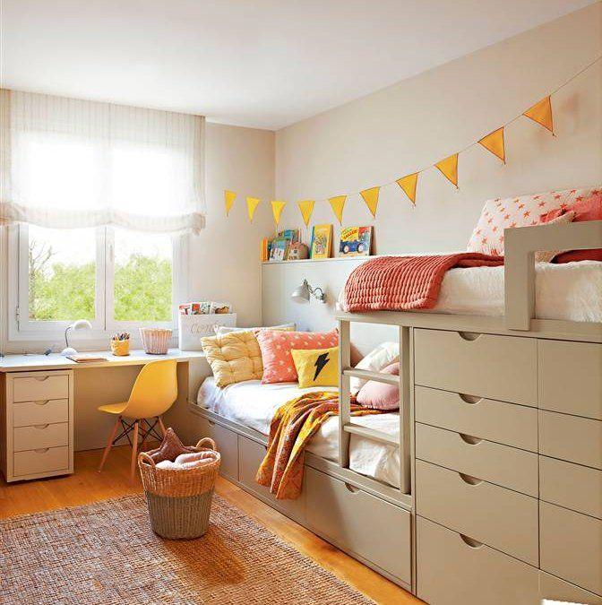 Buenas Ideas Para Espacios Compartidos Child Room And Cutesmart