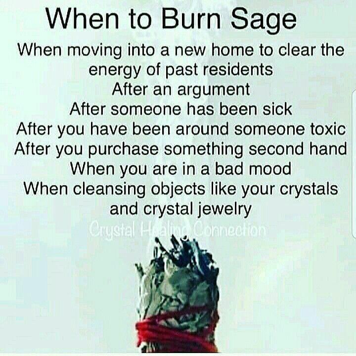 When To Burn The Sage Smudging Prayer Sage Smudging Spiritual Cleansing