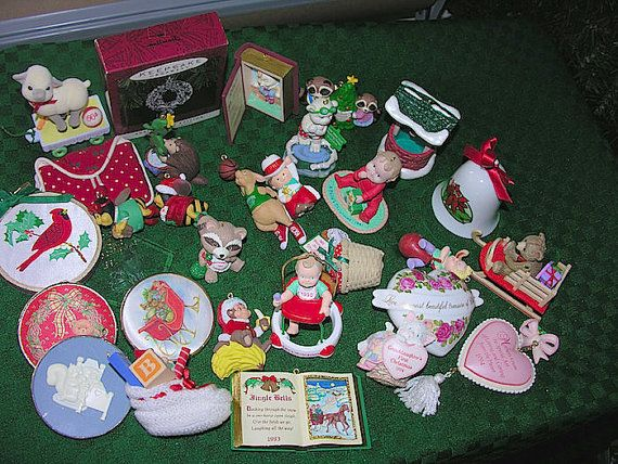 Thirty 30 vintage christmas ornaments 1980s 1990s hallmark thirty 30 vintage christmas ornaments 1980s 1990s hallmark enesco american greeting m4hsunfo Image collections