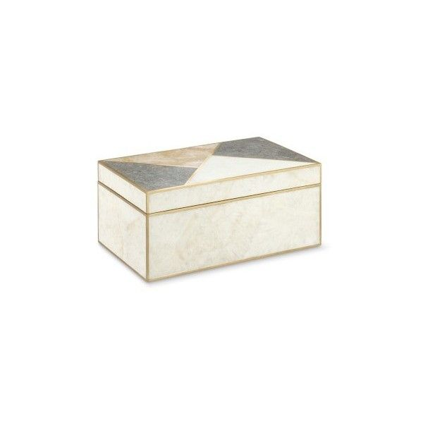Williams Sonoma Geo Stone Inlay Box 175 Liked On Polyvore Featuring Home