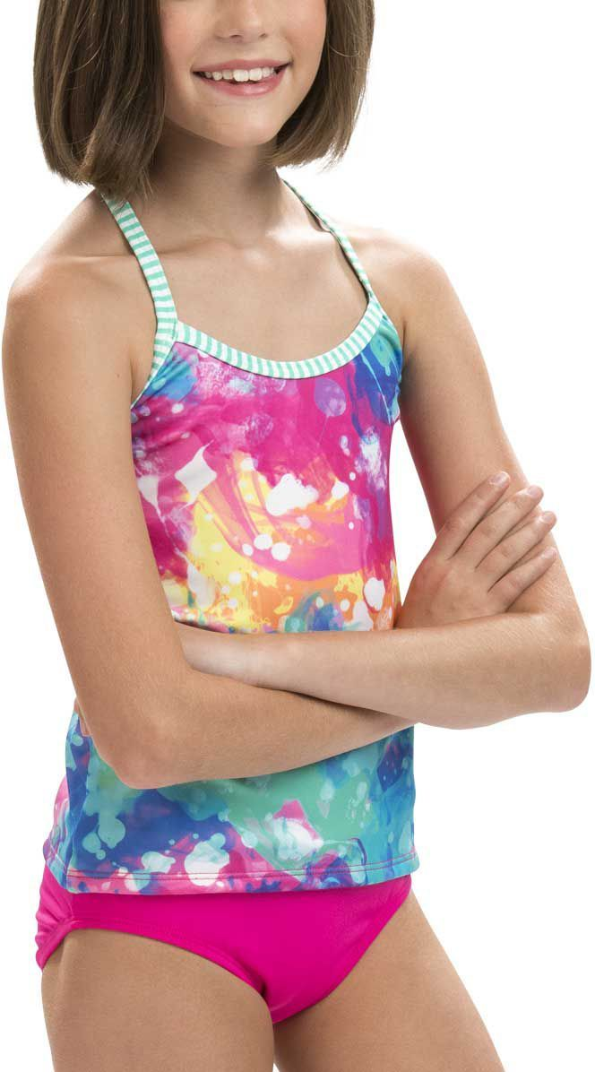 7a7674cd92 Dolfin Girls' Uglies Printed Tankini, Size: 8, Flutterfly in 2019 ...