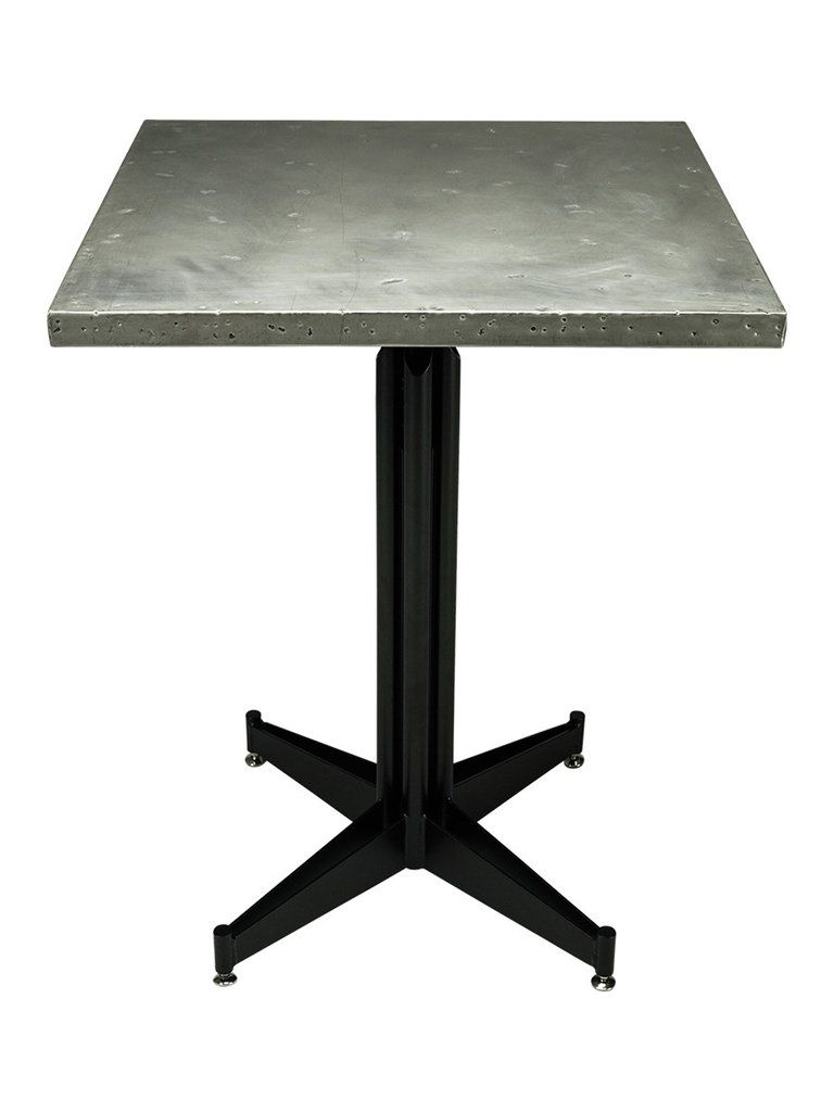 Cafe table top antique stainless steel stainless steel
