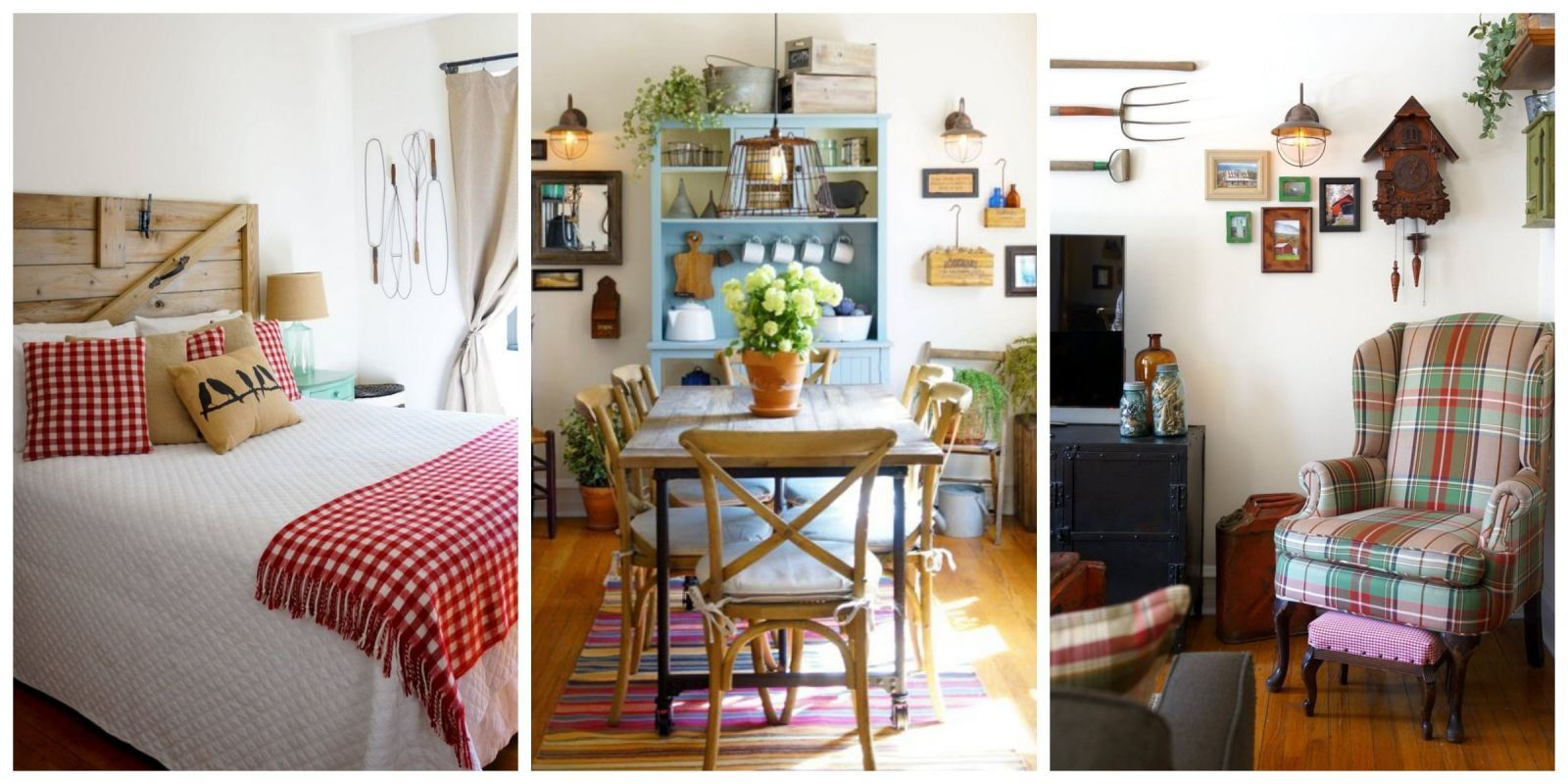 We Love The Primitive Country Decor In This City Apartment