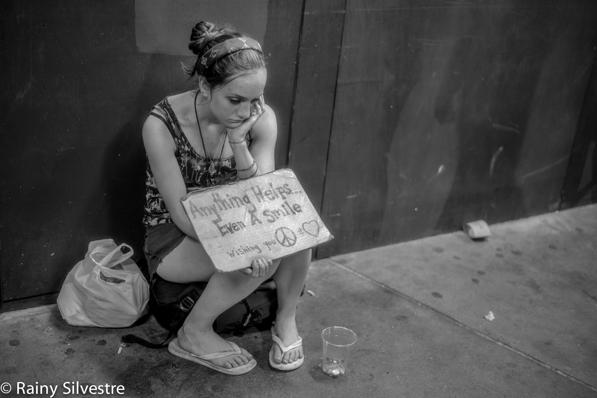 homeless girls