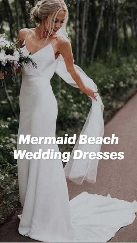 Mermaid Beach Wedding Dresses
