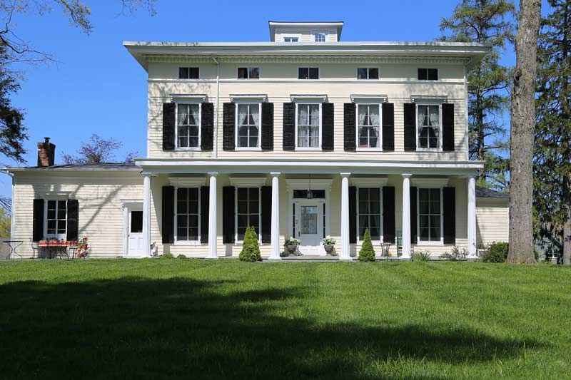 1830 Saxton Hall Cornwall On Hudson Ny Greek Revival Home