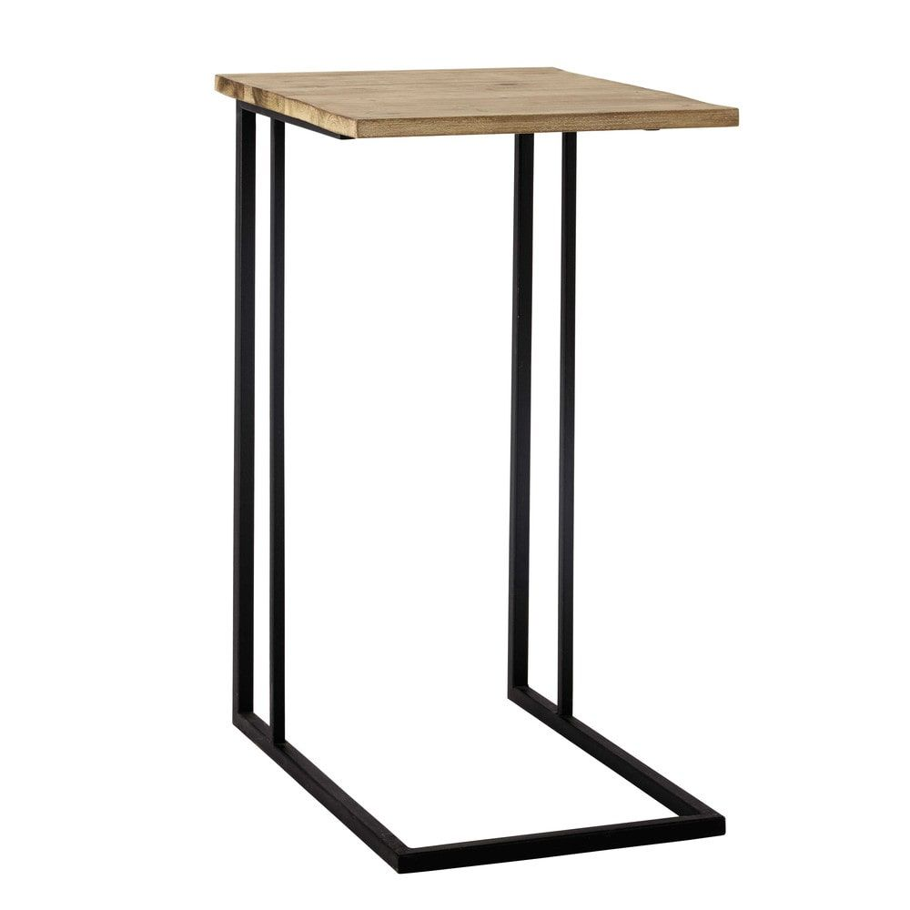 Metal Side Table In Black W 40cm Home Décor Metal Side Table