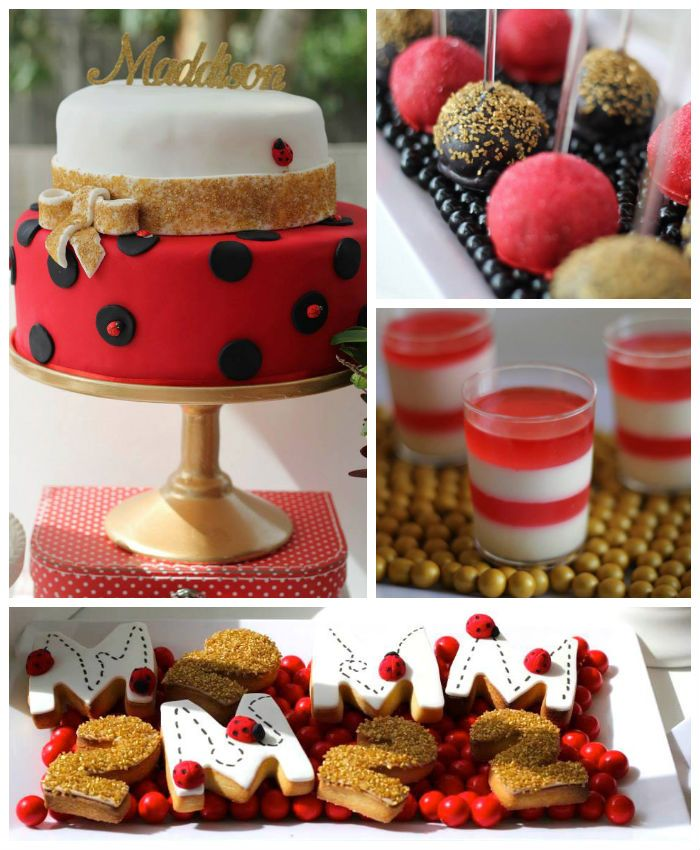 Ladybug Birthday Decorations Ideas Ladybug Fruit Tray