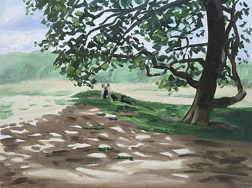 Professional Essex based artist Vincent Ball produces oil paintings and takes on commissions for landscapes and portraits