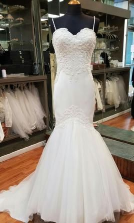 Other Leah Da Gloria look alike: buy this dress for a fraction of the salon price on PreOwnedWeddingDresses.com