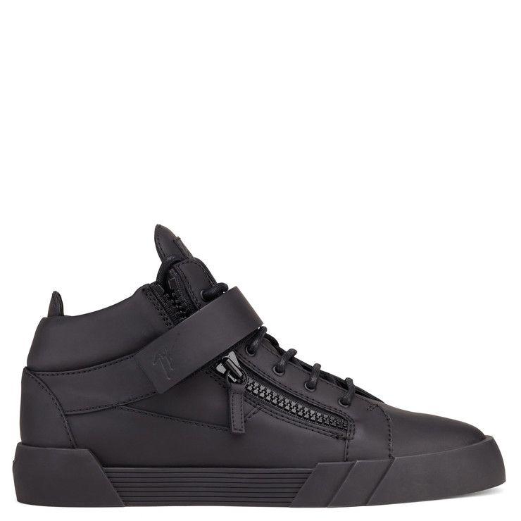 Giuseppe Zanotti Kriss Mi-top Snealers - Noir AdniuDd