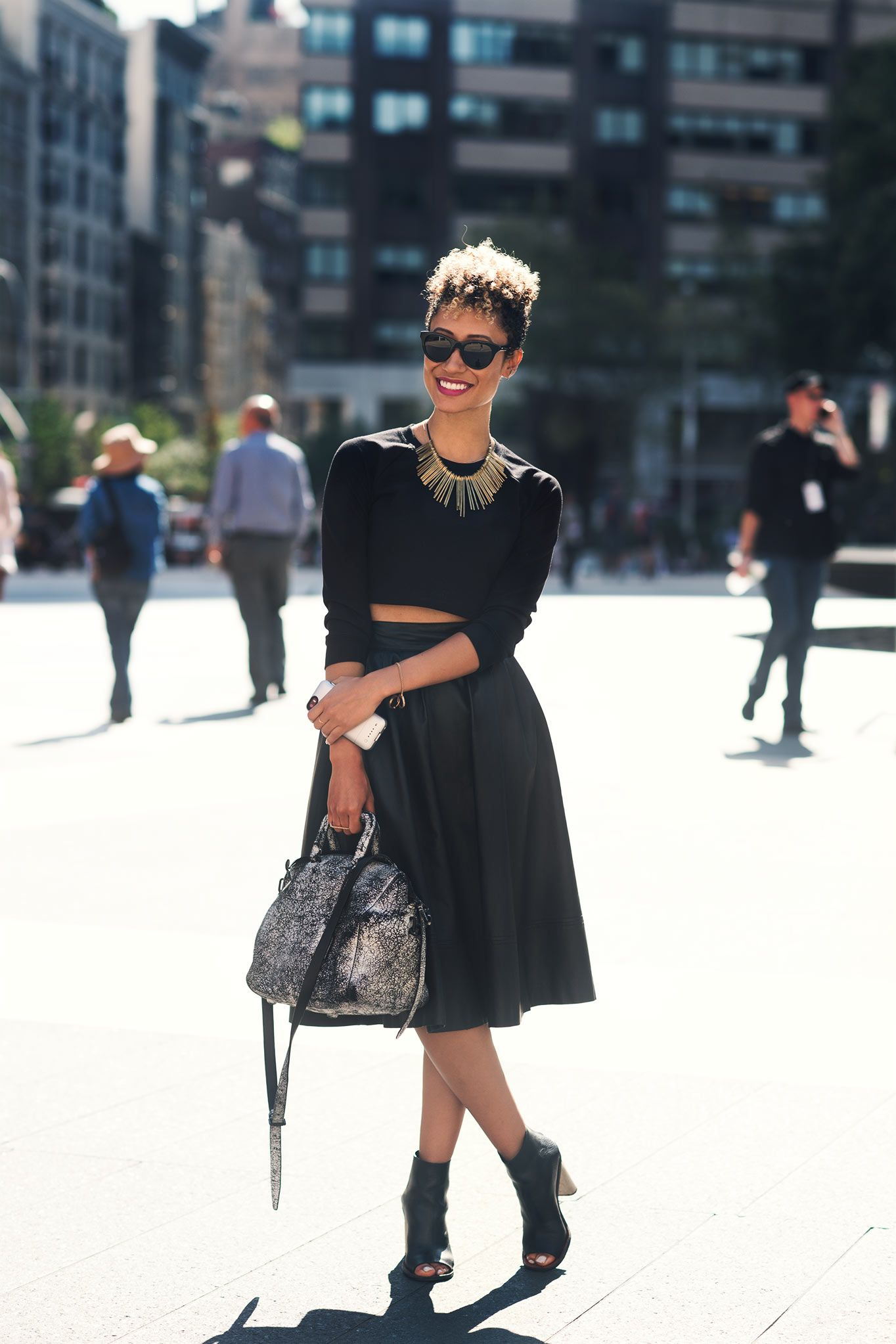 NYFW SS15 Elaine Welteroth