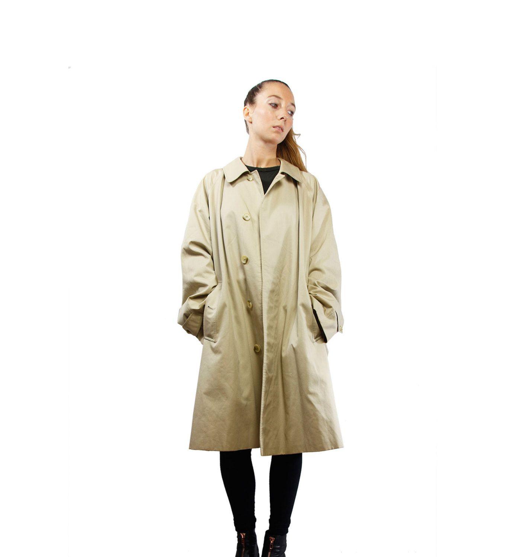 BURBERRYS Trenchcoat / Vintage Burberry Coat / Beige Trench Coat / Women Coat / BURBERRY / YUMMY Vintage
