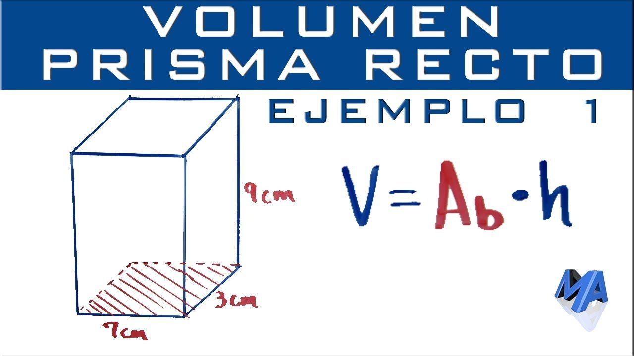 Como Calcular El Area De Un Prisma Rectangulo Calcular El Area