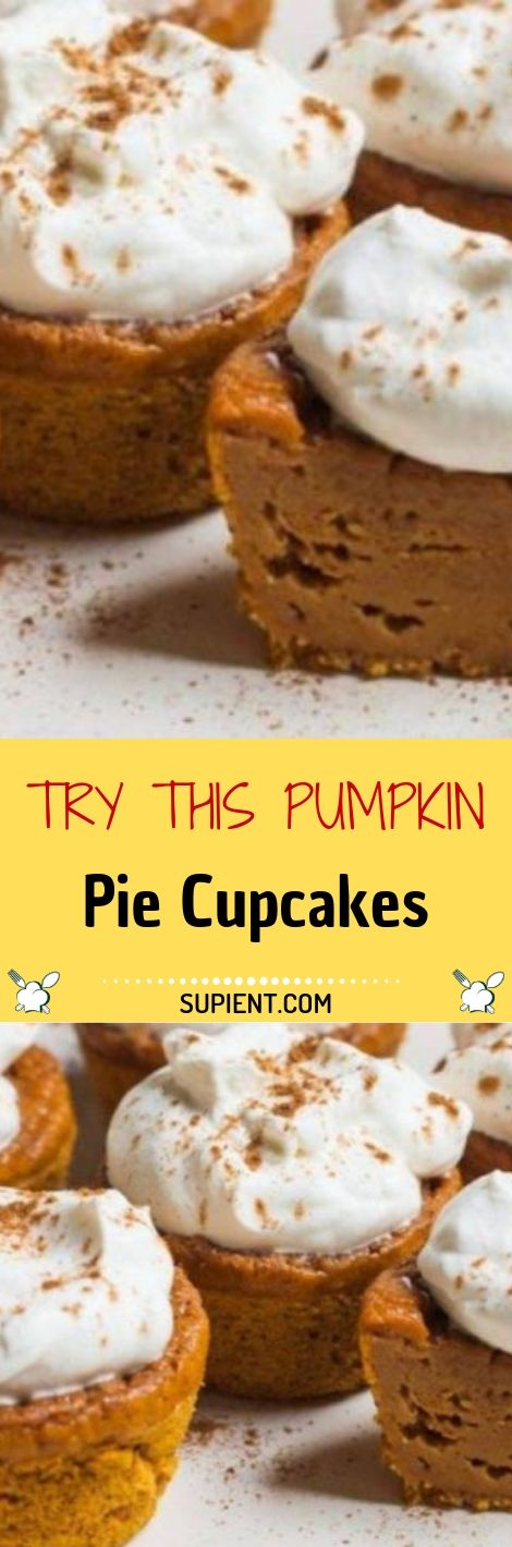 Try This Pumpkin Pie Cupcakes Try This Pumpkin Pie Cupcakes cipes #flavorsrecipes #recipeoftheday #easyrecipe #desserts