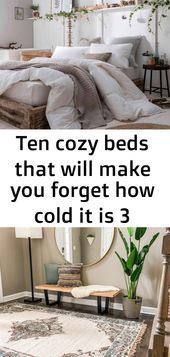 Photo of Ten cozy beds that will make you forget how cold it is 3#kitchengarden #gardenfl…