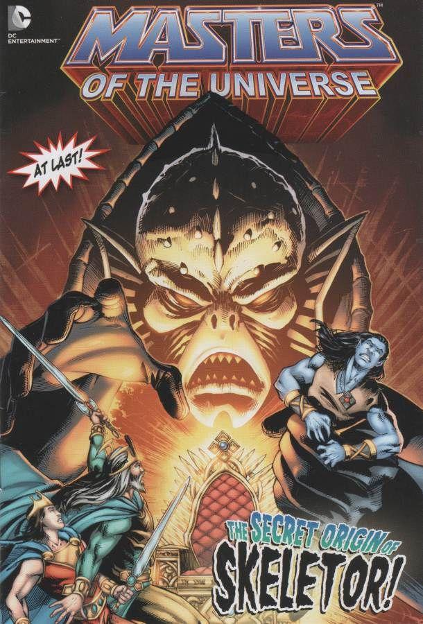 Image result for origin of skeletor dc comics cover