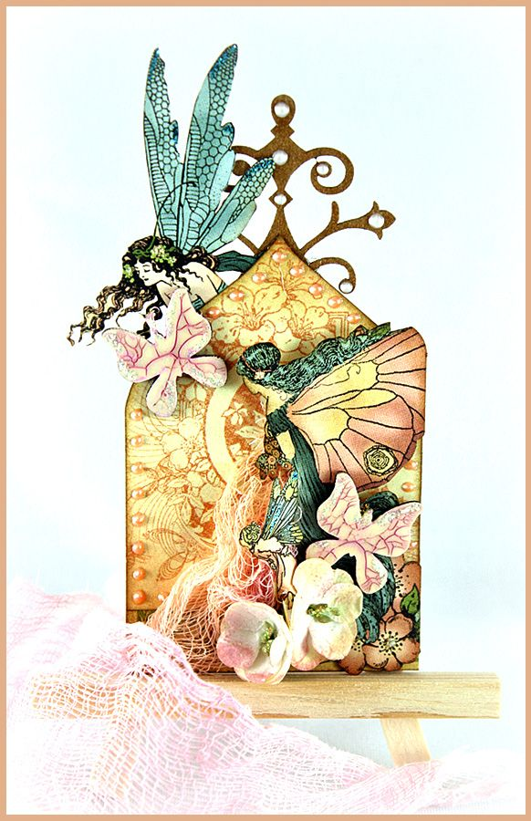 Butterflies and Fairies ATC *The Dusty Attic* - Scrapbook.com