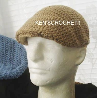 Kangol Style Jeff CapPDF Pattern Only by kenjones5 on Etsy fc5bc779fd3a