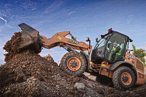 Case 221f Compact Wheel Loader Equipment Case Construction Construction Equipment Construction Vehicles Construction