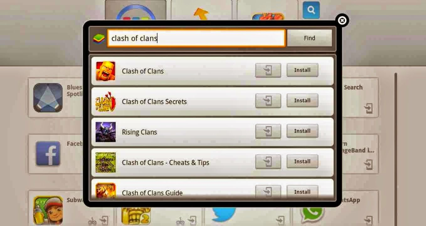 clash of clans pc download windows