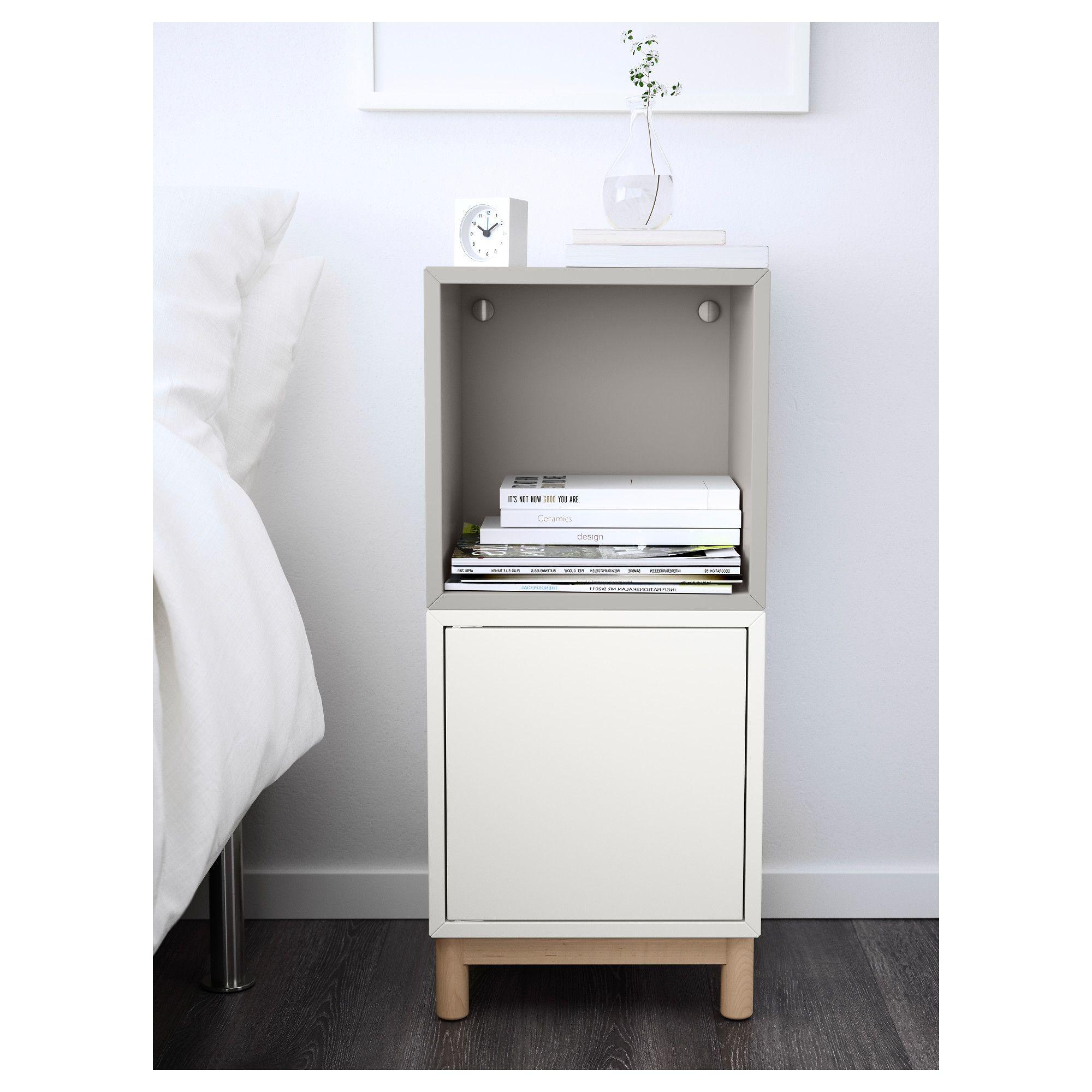 Ikea Eket Storage Combination With Legs White Light