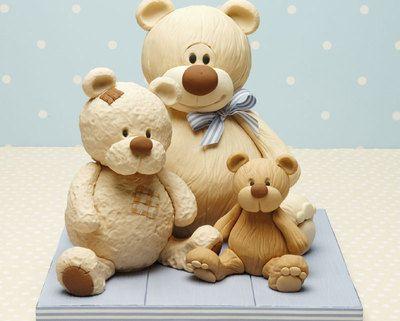 The amazing Debbie Brown, cute teddies!