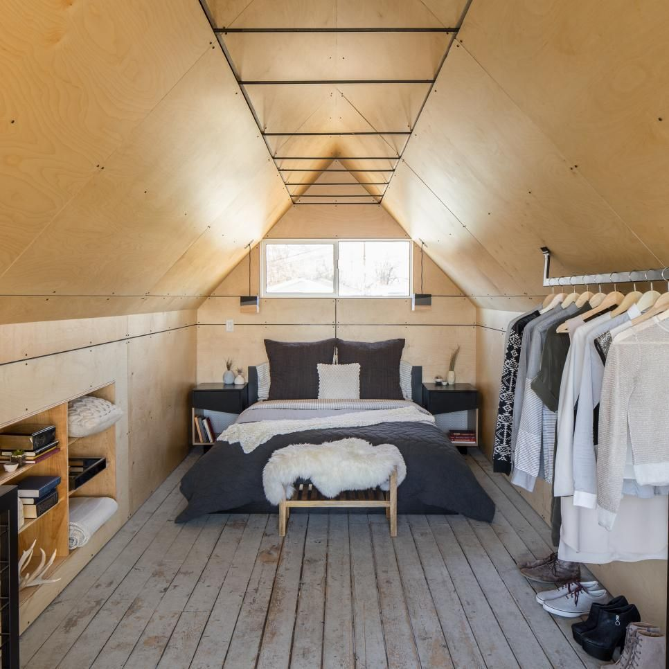 30 Stylish And Contemporary Masculine Bedroom Ideas: The Upper Level Of The Petite Home Has Been Transformed