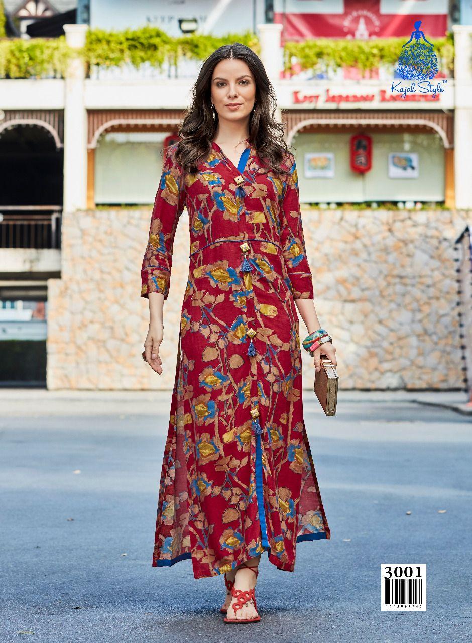 5687be9227 Kajal Style Femina Vol-02 Designer Kurtis (10 pc catalog) (1 ...