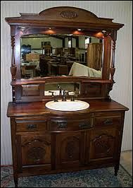 Image result for antique bathroom mirror