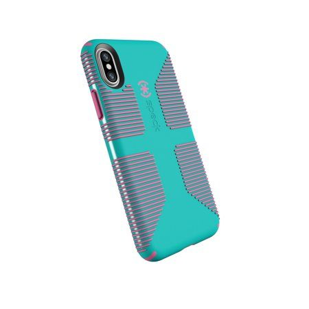 newest c9af5 e1735 Speck CandyShell Grip Case for iPhone X, Blue and Pink | Products in ...