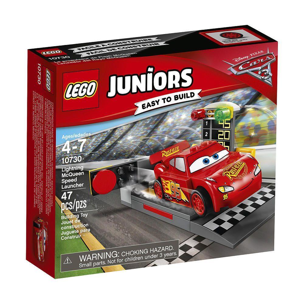 Lego Juniors 10730 Disney Cars 3 Lightning McQueen Speed