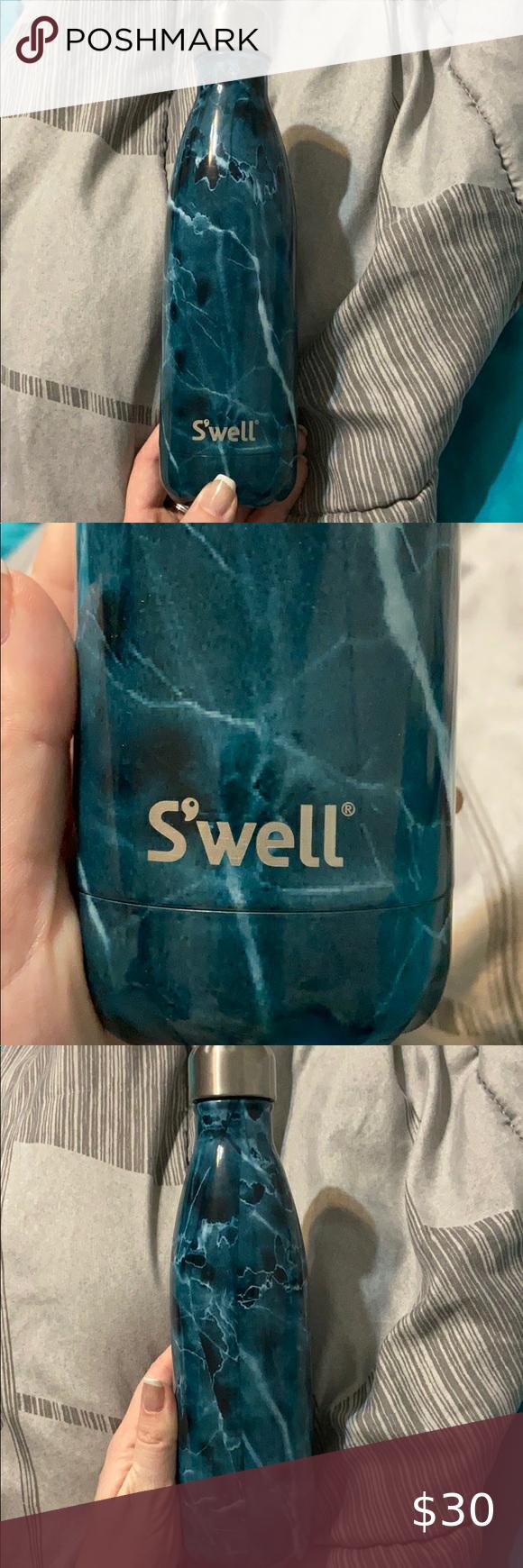 Blue Marble S Well Bottle In 2020 Blue Marble Well Bottle Blue