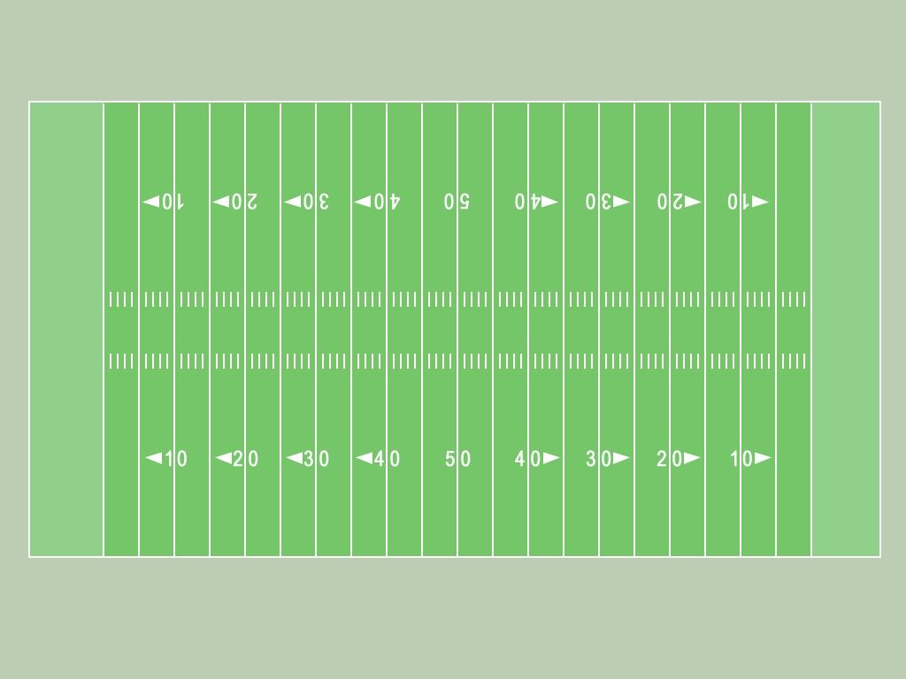 Football Field Template  Reading  Pinterest  Football field