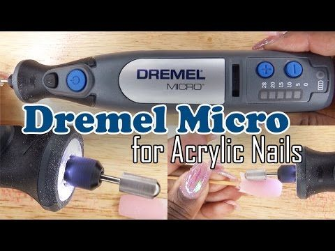 Why I Love The Dremel 8050 Micro Youtube Nail Drill Nail Drill Machine Acrylic Nail Drill