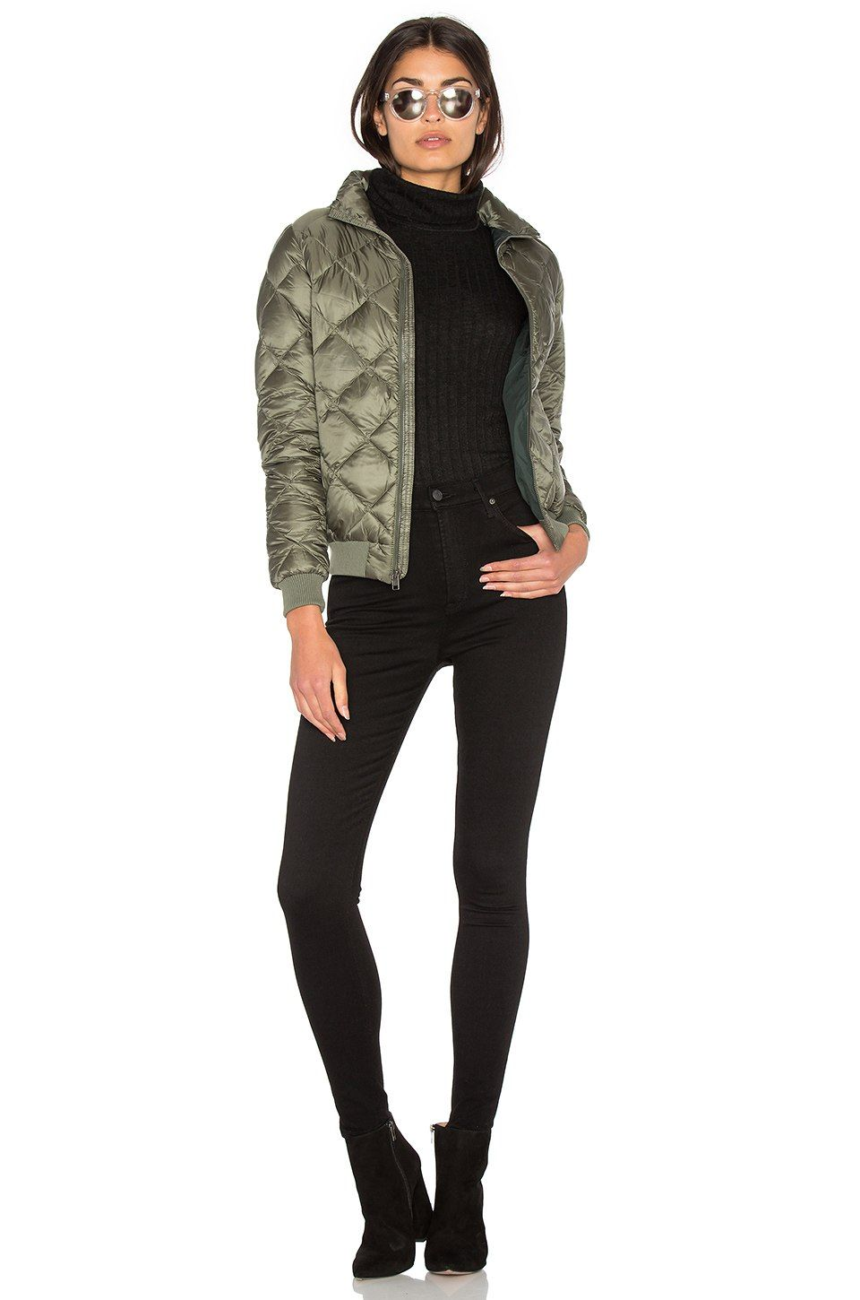 14b36344f Patagonia Prow Bomber Jacket in Industrial Green | REVOLVE | Weekend ...
