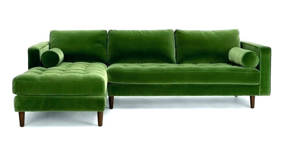 Green Sofa Slipcover Lovely Lime Couch Or Impressive Sectional Likable Olive Fabric