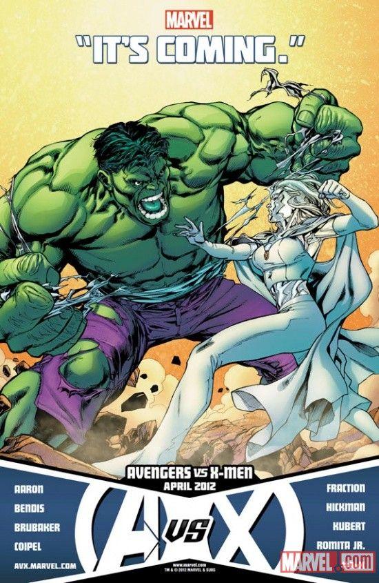 Emma Frost Vs Hulk Marvel Comics Avengers Team Hulk Marvel
