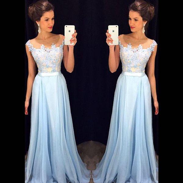202a53a8b63 Vestido De Festa Longo Louisvuigon Woman Top Lace Long Prom Dresses Chiffon Evening  Dress Party