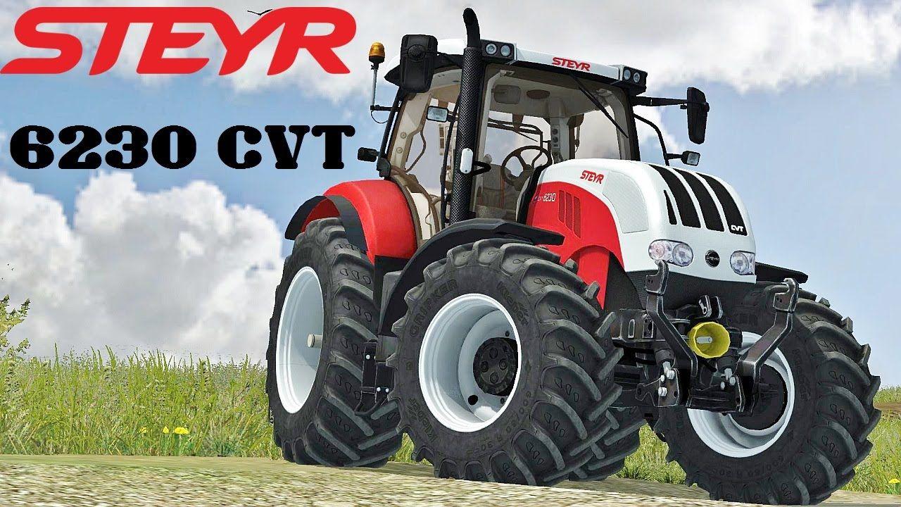 STEYR 6230 CVT 1 280—720 pixels
