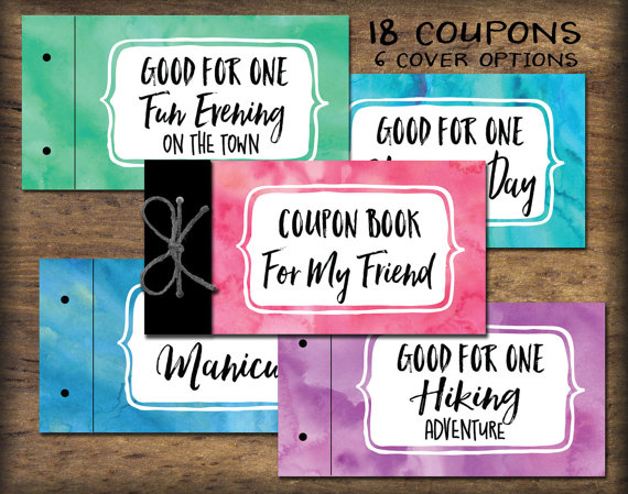 photograph regarding Friendship Coupons Printable titled Close friend BFF Coupon Guide printable. Quick down load reward principle
