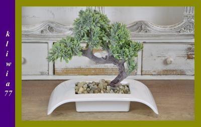 Bonsai Drzewko Sztuczne Ozdoba Dekoracja 6001889023 Oficjalne Archiwum Allegro